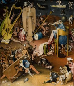 Detail from The Garden of Earthly Delights 「快楽の園」(部分)