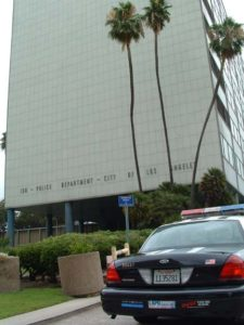Parker Center, LAPD Los Angels