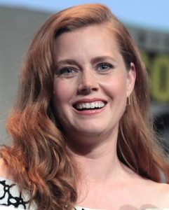 "Photo by https://www.flickr.com/people/22007612@N05 - Amy Adams speaking at the 2015 San Diego Comic Con International, for ""Batman v Superman: Dawn of Justice"", at the San Diego Convention Center in San Diego, California. (2015) / CC BY 2.0"