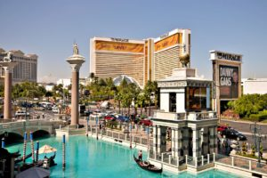 Photo by Jacoplane - View of the Mirage from the Venetian (2008) / CC BY 2.0